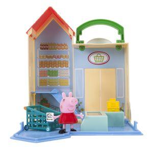 Jazwares 96581 - Peppa Pig - Peppa Wutz - Kleiner Lebensmittelladen
