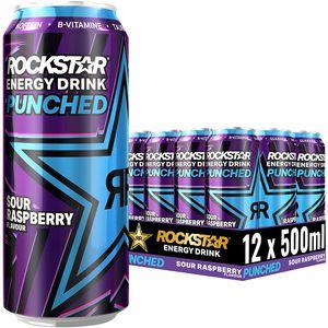 Rockstar Energy Super Sours Blue Raspberry 12x0,5l