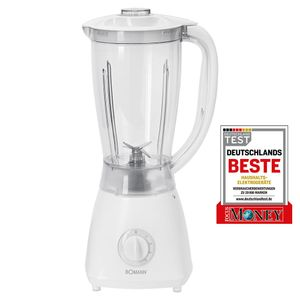 BOMANN Universalmixer UM 378 CB weiß Smoothie Maker Küchenmixer Zerkleinerer