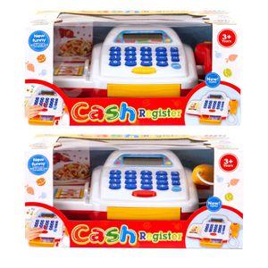 Kinder Spielkasse Kaufladen Kasse mir Scanner Spielgeld Bankkarte