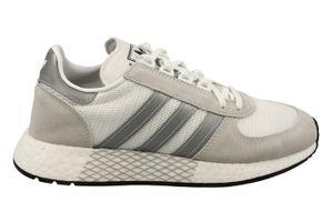 adidas Originals Sneaker Marathon Tech Weiß / Silber / Grau, Größe:44 2/3