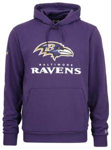 New Era - NFL Baltimore Ravens Team Logo and Name Hoodie - Lila : Lila M Farbe: Lila Größe: M