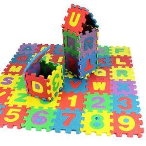 36-STÜCK Puzzlematten Kinderteppich Bodenmatten Spielteppich 12*12cm pro Matte EVA Schaumstoff Matte