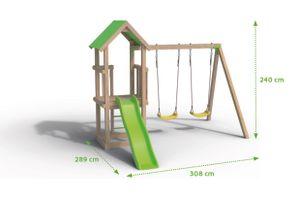 Trigano Spielturm Klettergerüst EASY XPERIENCE, J-23502P1