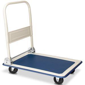 Monzana Plattformwagen bis 150 kg klappbar Antirutsch Beschichtung Transportwagen Transportkarre Transportroller Metall