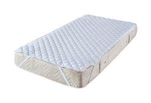 Matratzenschoner 160x200 cm  für Bett und Boxspringbett Topper Auflage Microfaser   Matratzenauflage Nässeschutz