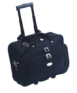 Pilotenkoffer Business Boardcase Reisetrolley + Laptopfach Geschäftsreisen