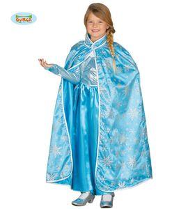 Fiestas Guirca umhang Ice Princess Junior Polyester blau Einheitsgrösse