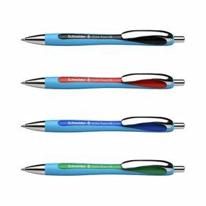 Schneider Slider Rave XB - 4er-Set schwarz, rot, blau, grün