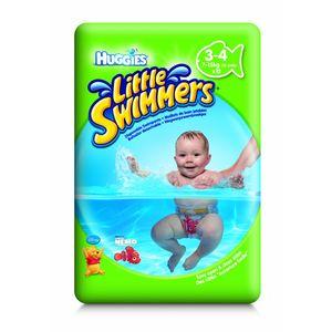Einweg-Schwimmwindeln 'Huggie's Little Swimmers' Größe 3/4, 12er Pack, für 7 -15 kg