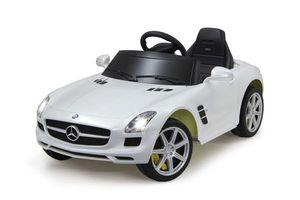 Jamara Elektroauto Kinder Ride-on Mercedes Benz SLS AMG weiß