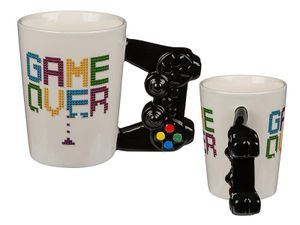 Game Over Tasse mit Controller Griff
