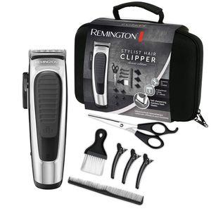 Remington HC 450 Stylist Haarschneidemaschine silber / schwarz, Farbe:Silber-Schwarz
