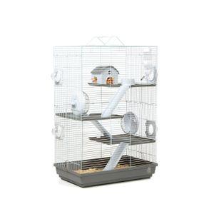 Hamsterkäfig Lenzkirch mit sehr viel Zubehör, Mehrstöckig