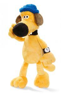 Nici 33334 gelber Hund Bitzer Shaun das Schaf 25cm Schlenker Plüsch