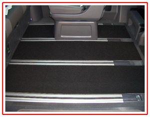Gastraum Teppich Fußmatten hinten 3-teilig VW T6 Multivan ab 2015