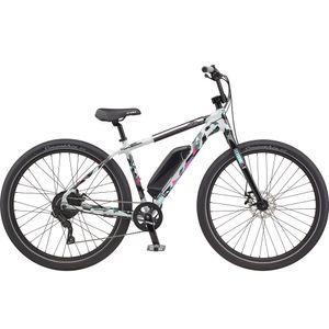 GT Power Performer 29 Zoll E-Bike E Wheelie Bike E Dirt Bike 29' Dirtbike BMX Pedelec, Farbe:gloss battleship grey/black/hot pink/mint blue, Rahmengröße:43 cm