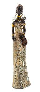 Afrikanerin 24 cm groß Afrika Frauen Figur