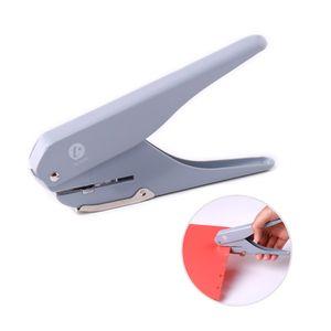 KW-Trio Handheld DIY Pilz Einlocher Locher Puncher Papierschneider mit Lineal für Office Home School Schüler