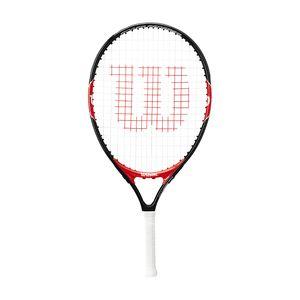 Wilson Roger Federer (besaitet) 21`` Tennisschläger Rot - Kinder , Größe:00 (Griffstärke)