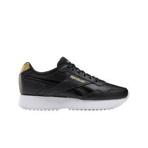 Reebok Damen Sneaker Sneaker Low Lederkombination schwarz 40