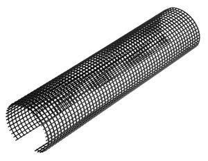 INEFA Laubschutzgitter Dachrinnenschutz Schwarz NW 100/125=100-125mm, 200cm, 1 Stück