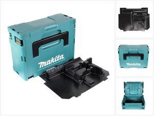 Makita MAKPAC 2 Systemkoffer - mit Einlage ( 837916-4 )für BHP / DHP / BDF / DDF / BTD / DTD