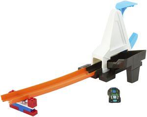 Hot Wheels Track Builder Basis-Set mit Fahrzeug Schnellstarter