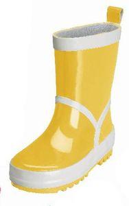 Playshoes Gummistiefel uni, Größe 28/29, in gelb