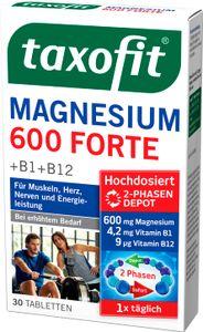Taxofit   Magnesium 600 Forte   30 Tabletten