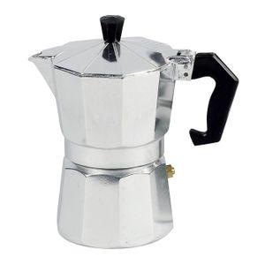 Espressokanne 1 Tasse, silber (1 Stück)
