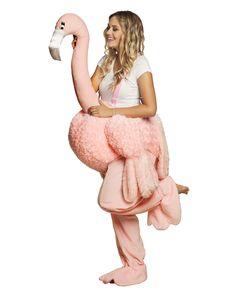 Boland Flamingo Kostüm für Erwachsene - Flamingo Verkleidung Standard