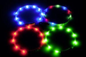 Leuchthalsband / Leuchtring Visio Light Karlie 20-70cm blau