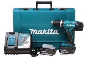 Makita DHP453RFE Akku-Schlagbohrschrauber 18 V - 2x 3 Ah Akkus  im Koffer