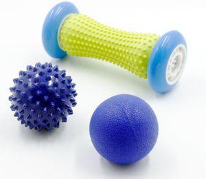 Fitnessrolle Fußmassage Fußmassageroller Massagegeräte Massageball