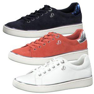 s.Oliver 5-23625-24 Damen Sneaker Halbschuhe Schnürschuhe , Größe:38 EU, Farbe:Blau
