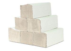 A&G-heute 5.000 Blatt 1-lagig 25 x 23cm ZZ-Falz Krepp Natur Papierhandtücher Handtuchpapier Premium Falthandtuch