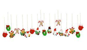 18 Weihnachtsanhänger Baumschmuck
