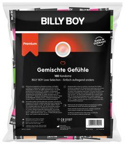 100 BILLY BOY Kondome Gemischte Gefühle - PREMIUM MIX - 6 Sorten  Germany