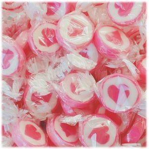 Herzbonbons zu Hochzeit Taufe Kommunion 500g Pink Dream
