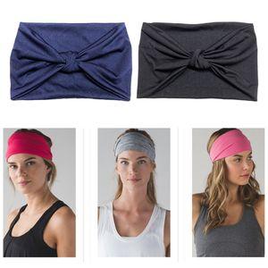 2Pcs Frauen Breiten Kopf Wrap Elastische Stirnband Für Sport, Laufen, Yoga