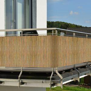 Sol Royal Sichtschutzmatte Bambus SolVision B89, Größe:600x100x1 cm, Material:Bambus