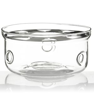 Dimono Stövchen Design Teewärmer aus Borosilikat-Glas passend für fast alle Teekannen