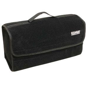 Purework Kofferraumtasche 50x15x27,5cm | Aufbewahrungstasche Schwarz | Kofferraum Autotasche | Auto Aufbewahrung Tasche