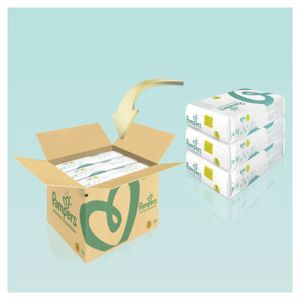 Pampers Premium Protection Gr. 3 Midi 6-10kg MonatsBox, 204 Stück - Größe 3 - 204 Stück
