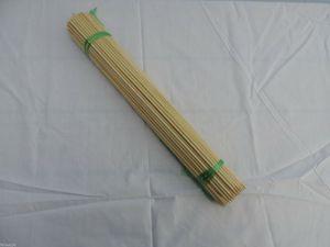 Bambus Splittstäbe 100 St. 50 cm Pflanzstäbe Pflanzenstäbe  Rankhilfe Pflanzstab