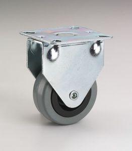 App.-Bockrolle 75x25mm,Gl, Platte 60x67 mm