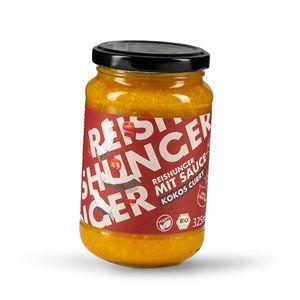 Reishunger Kokos-Curry Fertigsauce (325 ml) für Pasta und Reis