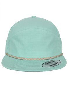 Flexfit Herren Color Braid Jockey Cap 7005CB, color:mint, size:one size