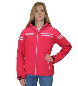 Cmp Girl Jacket Snaps Hood Ita Red Ita Red 128